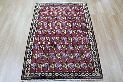 Old Hand Made Persian Tabriz Rug with floral design 150 X 100 CM