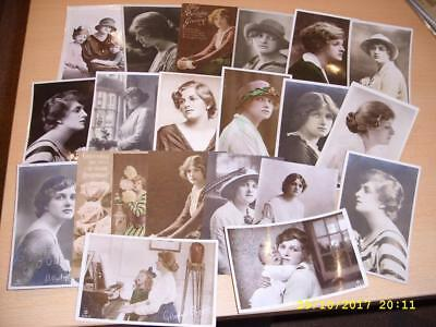Edwardian Actress  Gladys Cooper - Collection Of Vintage Postcards