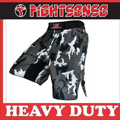 MMA Kick Boxing Short Camouflage UFC Grappling Muay Thai Men's Fight Wear Cage