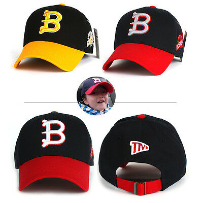 4~10 Years Children Kids Boys Girls Letter B Boston Baseball Cap Trucker  Hats 8fa4e6a66