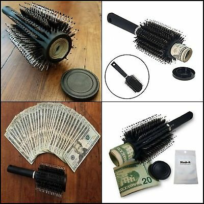 Hidden Container Safe Can Weed Stash Jewelry Home Hair Brush Secret Diversion