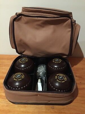 Drake's Pride Lawn Bowls Professional Plus With Carry Bag