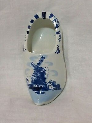 Pottery & Glass Delft Latest Collection Of Vintage Delft Southpaw Poem Japan Left Handed Pepper Shaker Florida Souvenir