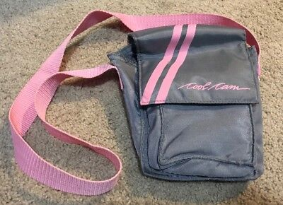 Polaroid Cool Cam Pink And Grey Carrying Bag
