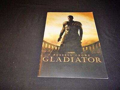 GLADIATOR Ridley Scott  russell crowe  le dossier presse cinema 40 pages