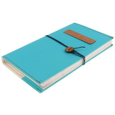 Vintage Paper Notebook Notepad Journal Diary Book Sketchbook Paper Gift Blue