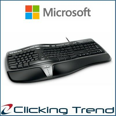 Keyboard Microsoft Natural Ergonomic 4000 Wired Win Mac 3 Year Warranty Genuine