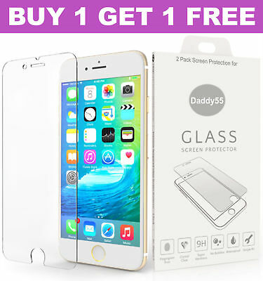 Genuine Tempered Glass Screen protector protection For Apple iPhone 6s -6