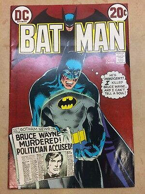 Batman #245 (Oct 1972, DC) Neal Adams cover