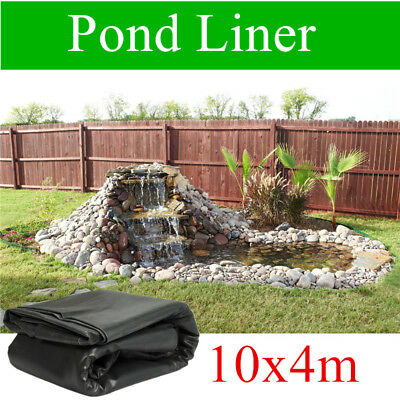 Pond Liner 10mX4m Reinforced HDPE HeavyDuty 20Yrs Guarantee Pond&Landscaping