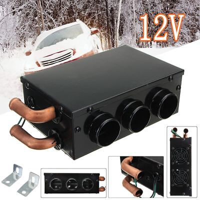 12V 800W 3 Hole Portable Car Heating Cooling Compact Heater Defroster Demister