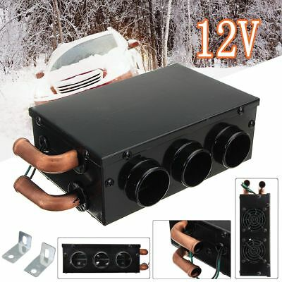 1PC 12V 3 Hole Portable Car Heating Cooling Compact Heater Defroster Demister