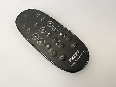 GENUINE PHILIPS REMOTE Control For Pilot Soundbar HTL2111A/05 i HTL2111A/12