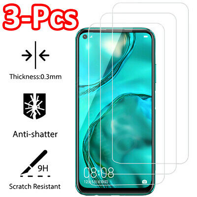 2Pcs Tempered Glass Screen Protector For Huawei P Smart P9 P10 P20 Pro P30 Lite