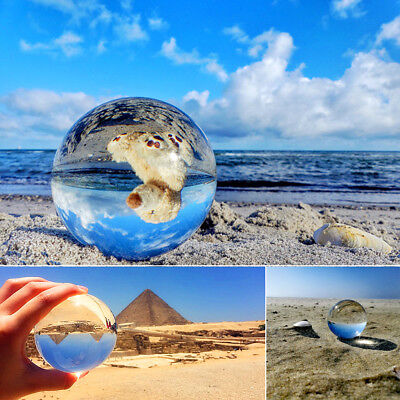 K9 Clear Crystal Ball Sphere 40/70/80MM Photography Props Home Christmas Gift