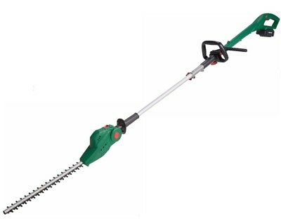 Qualcast CHT18ML1 18V Cordless Hedge Trimmer Pole Tool *USED* *Broken Belt Clip*
