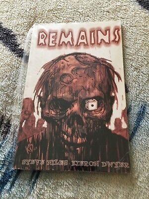 Remains Zombie Graphic Novel