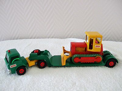 Matchbox King Size No K-17 Case Tractor/ Dyson Low-Loader