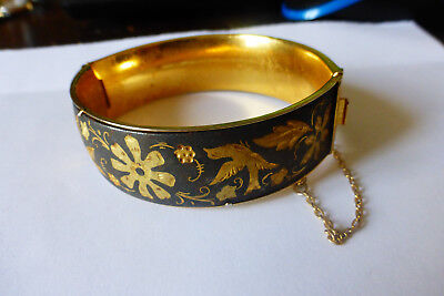 Bracelet Ancien De Tolede Damascene