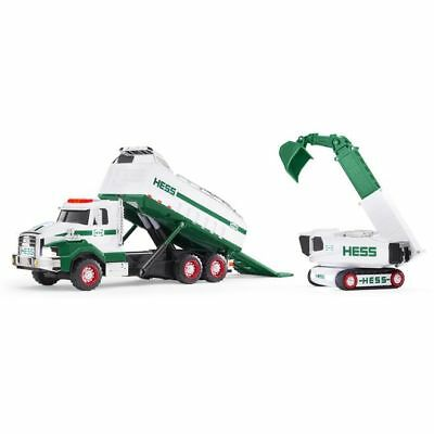 2017 Hess Dump Truck and Loader  Guarantee yours today!!!! Free Shipping!!