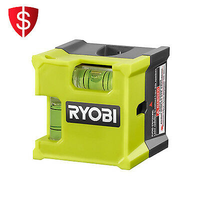 Laser Level Cube Compact Removable Adhesive Strip Vertical Horizontal Leveling