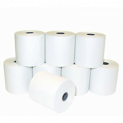 Pack of 5 57x57mm A Grade Till Rolls. Single Ply Adding Machine Receipt Paper.