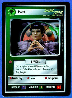 Star Trek CCG   TORETH  (Reflections Foil)