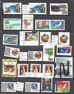 Canada SELECTION OF 24 DIFFERENT 42-43 CENT ERA USED (BS10725)