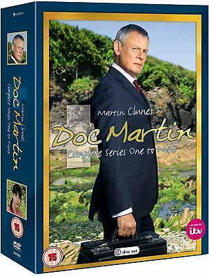 DOC MARTIN 1-8 (2004-2017) - COMPLETE Doctor TV Seasons Series NEW R2 DVD not US