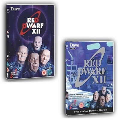 RED DWARF (2017): XII  TV SERIES 12 Smeg Head Sci-Fi Comedy NEW R2/4 DVD not US