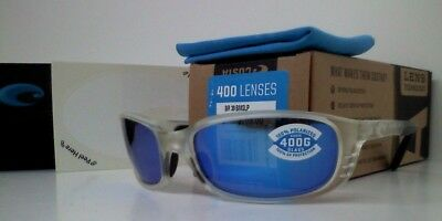 6d34f6444c5a Costa Del Mar Brine Polarized Sunglasses - Matte Crystal/Blue Mirror 400G