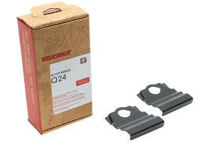 Yakima Q48 Q Tower Clips w// C Pads /& Vinyl Pads #00648 2 clips Q 48 NEW in box