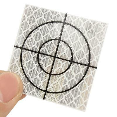 40 x 40 mm 100pcs Total Station Target Reflection Reflector Tape Sheet NEW US