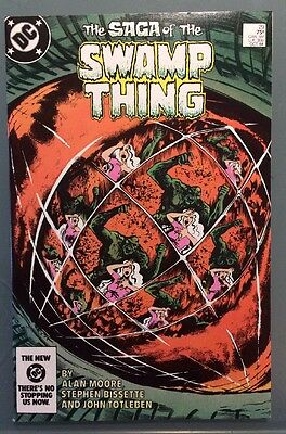 SWAMP THING #29, DC 1984,9.0 VF/NM, Alan Moore,Combined Shipping!