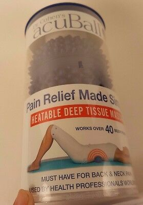 Dr Cohen's acuBall Heatable Deep Tissue Massage Muscle & Joint Pain Relief
