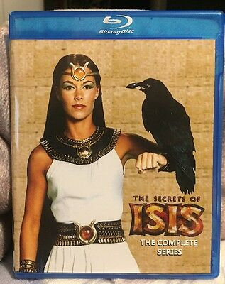 The Secrets Of Isis - The Complete Series (Blu Ray or DVD) Free Shipping