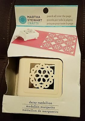 BRAND NEW! Martha Stewart *Punch All Over The Page* Daisy Medallion pattern