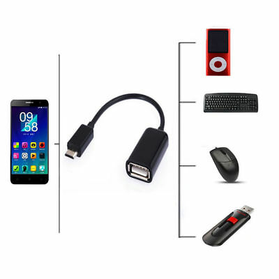 OTG Host Data Sync Cable Cord Lead Supply Adapter To USB Flash Drive For LG V30