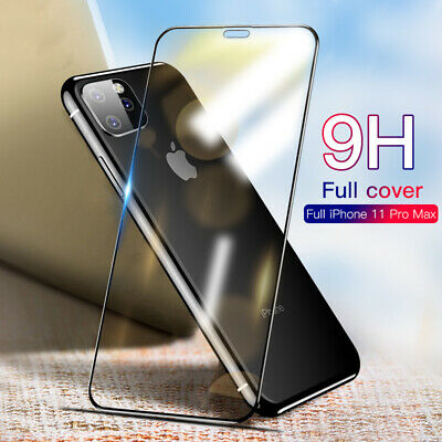 3D/4D/5D Tempered Glass Full Screen Protector For iPhone 11 Pro Max XS XR 8 6 7
