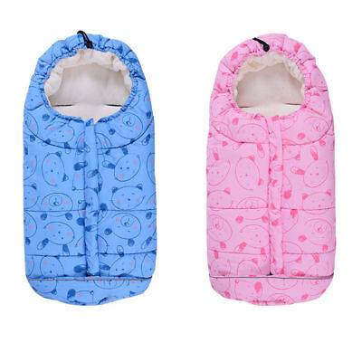 Baby Infant Footmuff Sleeping Bag Stroller Pushchair Pram Car Seat Cot Bed Cosy