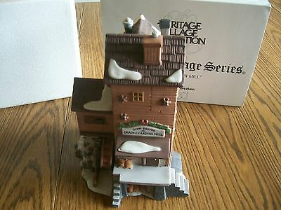 "Dept 56 Dickens' Village Series ""great Denton Mill"" #5812-2  Nice With Cord 1993"