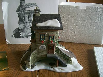 Dept 56 Dickens' Village Series The Maltings #5833-5 1995 Nice With Cord