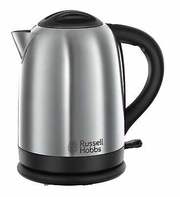 Russell Hobbs 20091 Oxford 1.7L 2400W Polished Stainless Steel Silver Kettle