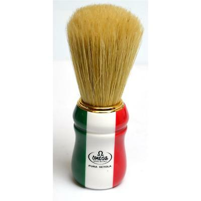 Pennello Da Barba Pura Setola Omega  21762 Shaving Brush
