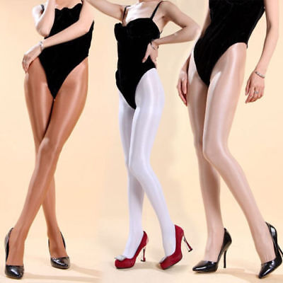 70D Shiny Tights Pantyhose High Glossy Dancer Cheerleader Ballet Hooters Uniform