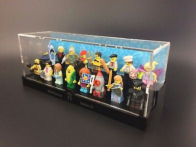 Display Case for LEGO Collectable Minifigure Series (Choose from Series 1 - 17)