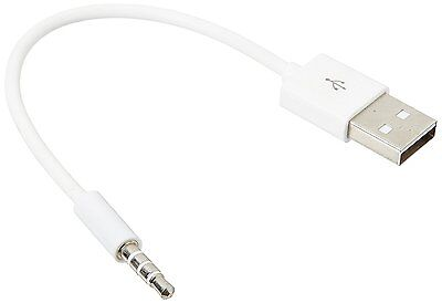 iPod Shuffle USB Charger SYNC DATA Cable 3rd, 4th and 5th (Length May Vary)