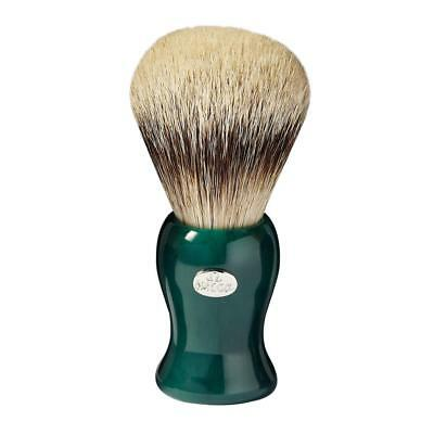 Pennello Da Barba Omega Tasso Argentato 6209 Shaving Brush Silver Tip Made Italy