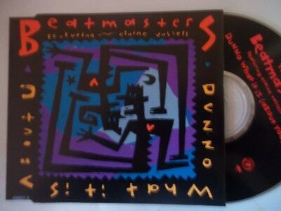 THE BEATMASTERS Dunno What It Is CD