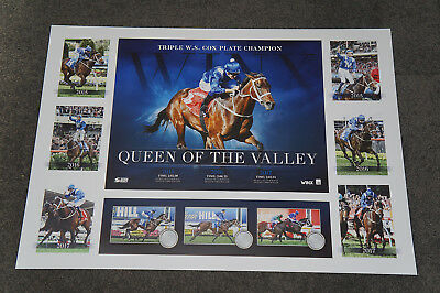 2017 Winx Triple Cox Plate Champion Official Print Only Horse Racing Bowman